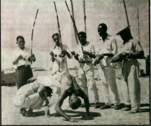 Capoeira historie